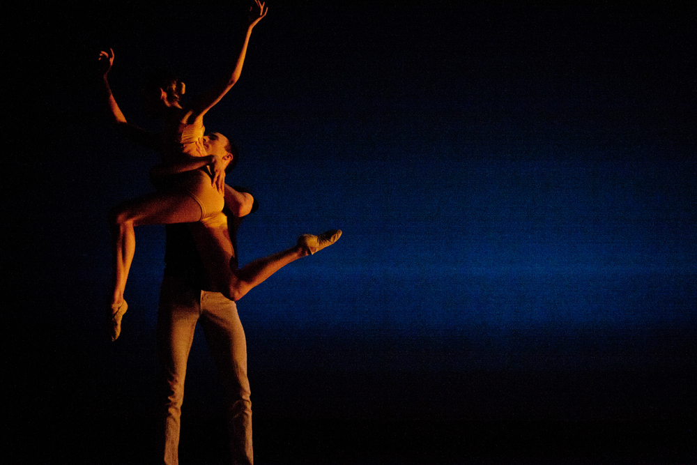 Nicole Voris and Ed Carr in On Truth and Love by Jennifer Hart.  Photo by Ballet Zaida