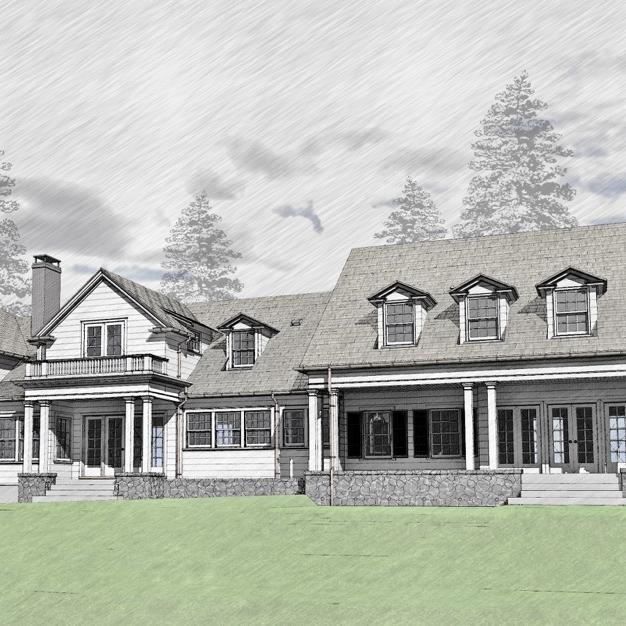 Colonial Renovation/Addition, SW Portland<br><br><em>- Cella Architecture, Sandra Lamer Interiors -</em>