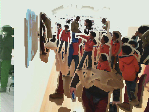 Automated Digital Photo Collage at Hudson Guild Gallery