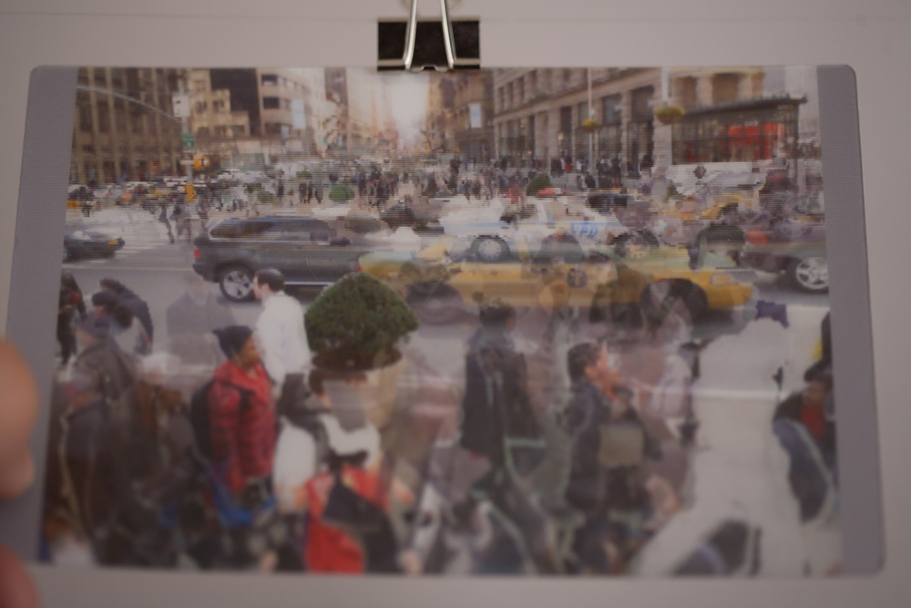 Automated Digital Photo Collage: Lenticular Print