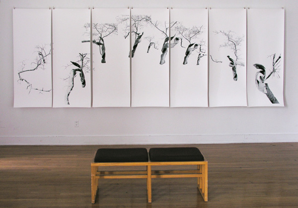Twisted Tree: Queens College Student Gallery View