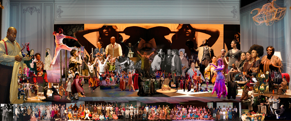 Hudson Guild Community Theater 20th Anniversary Collage