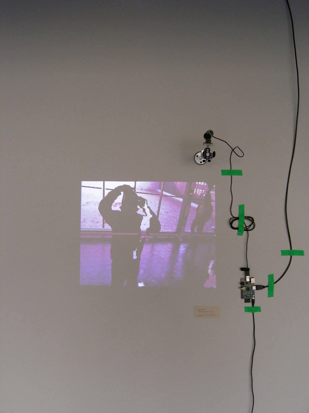 View of ADPC at installed at Kingsborough gallery, 2014