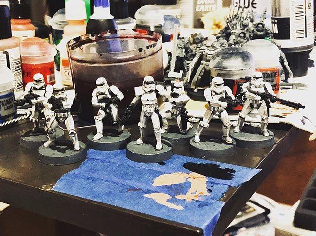 Getting some legion on...