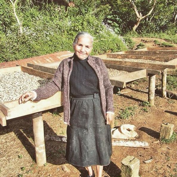 The late Doña Sebastiana