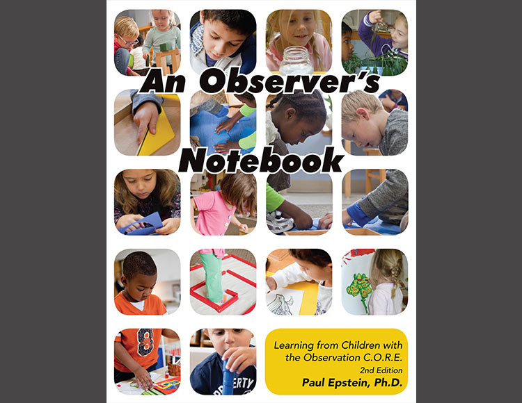 To purchase An observer's notebook, contact the montessori foundation at 1-800-632 -4121, or visit  The montessori foundation store