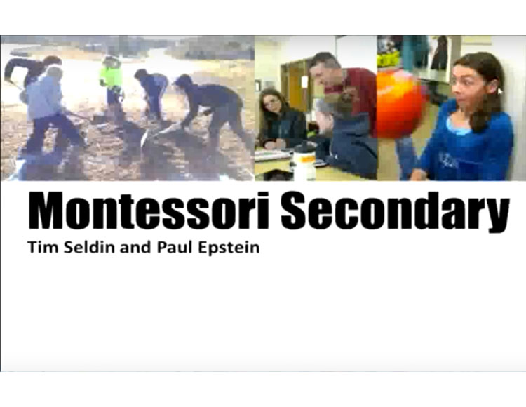 Developing a montessori middle and/or high school program