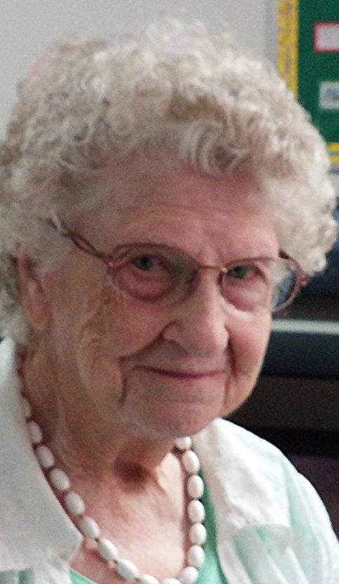 Centenarian JUNE GREEN