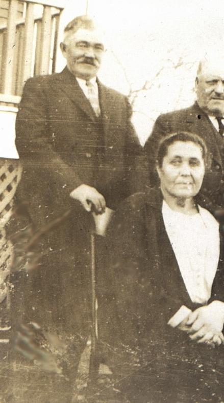 My Grandparents Ferdinand & Maria Suko on the ranch in America.