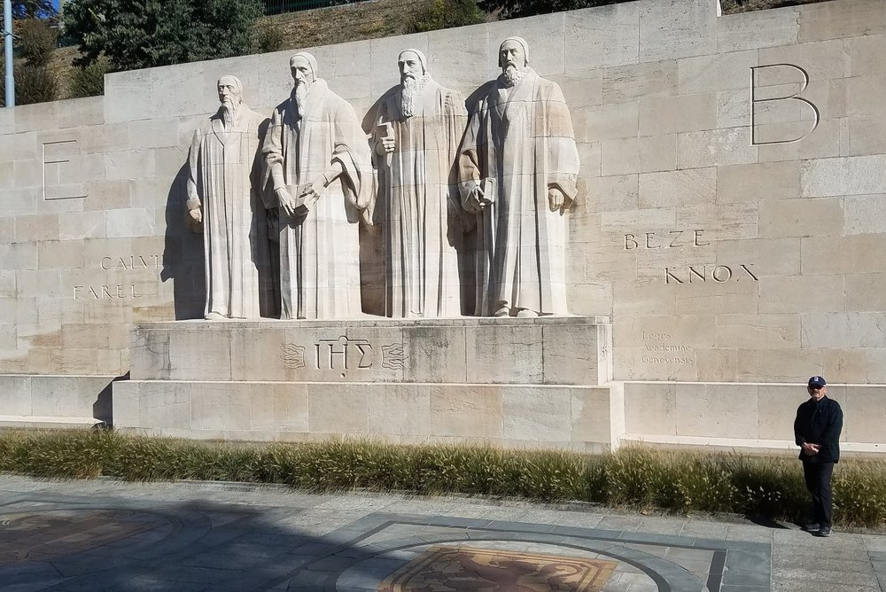 The four key reformers from Geneva who impacted the world through the Reformation.