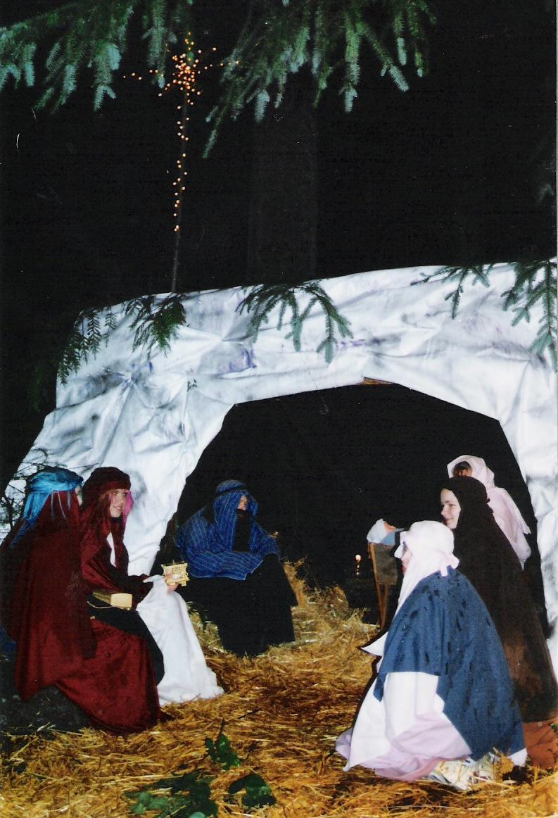 Living Nativity 1998 ~ Gig Harbor, Washington