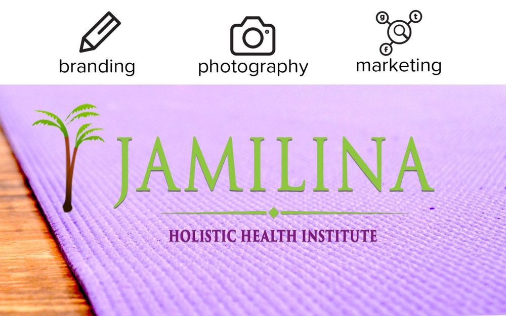 Services for Jamilina include graphic design branding identity and online marketing.jpg
