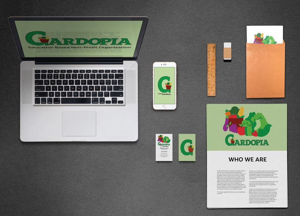 Brand Collateral - After creating the style guide, I was able to express the brand through multiple mediums such as business cards, letter heads and flyers.