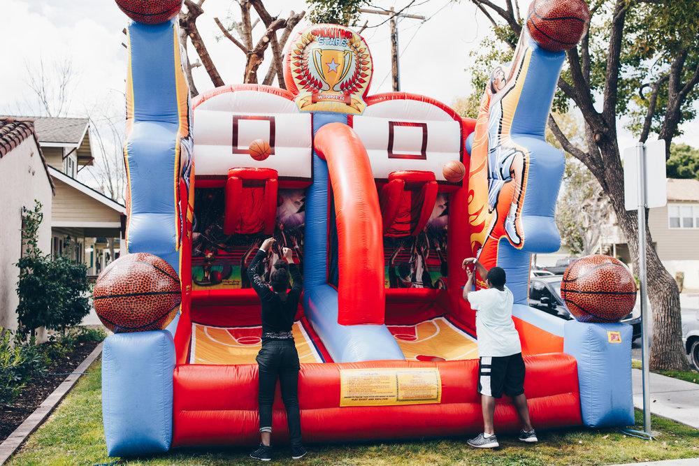 Foster teen monthly activities