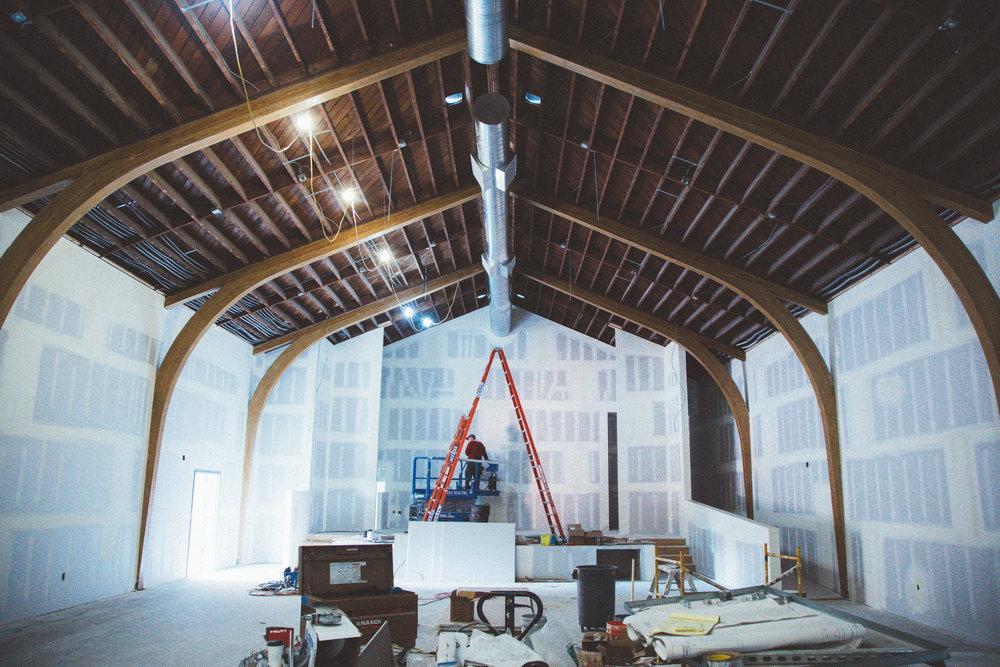 Bellflower campus renovation