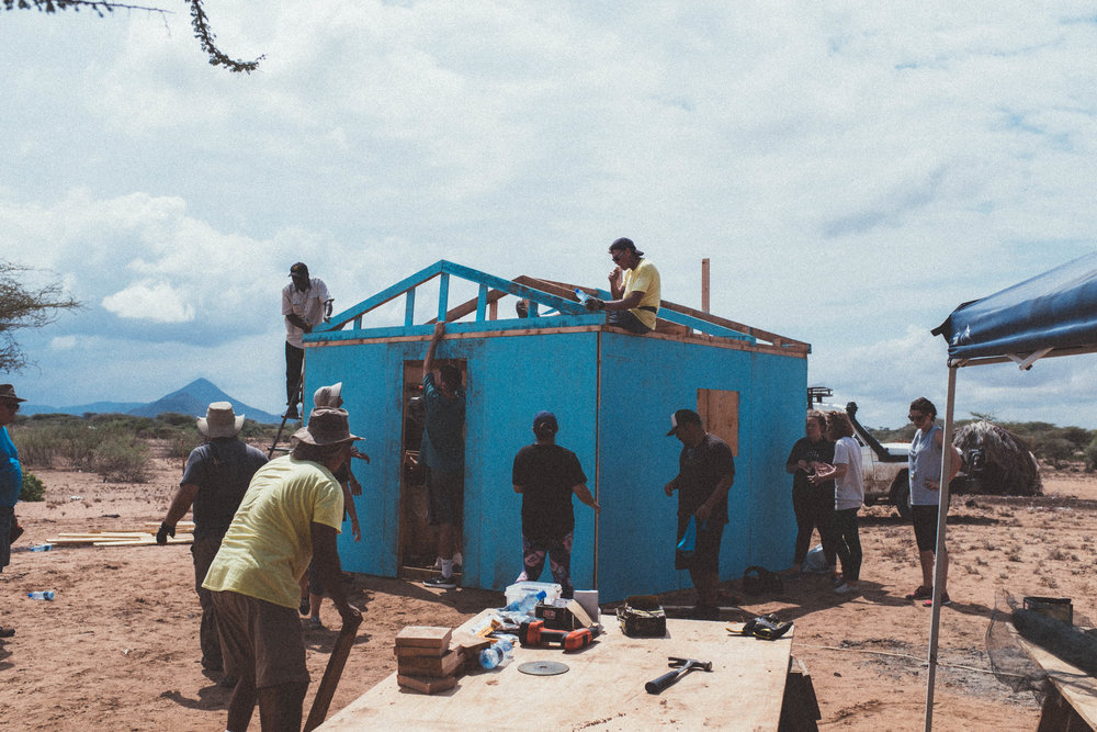 Homes for marginalized families in Kenya