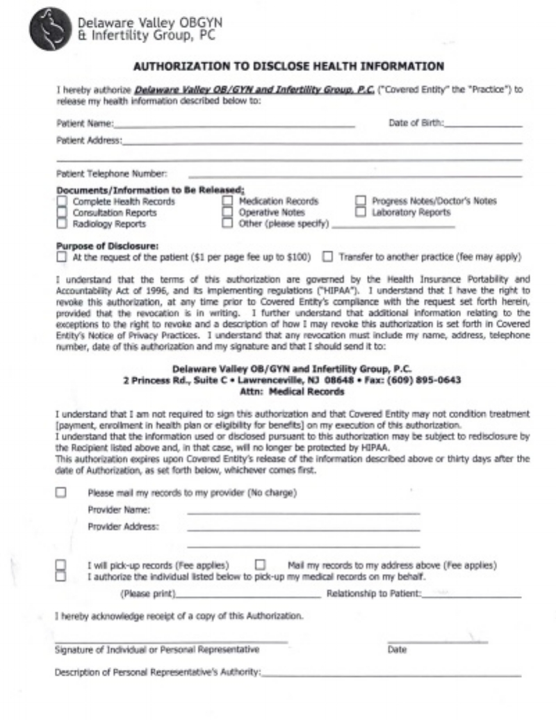 DVOBGYN-HIPPA-release-form