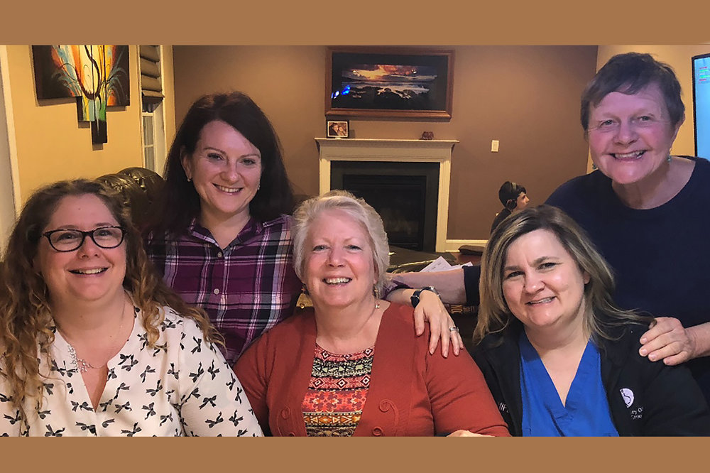 New Jersey Midwives Ursula Miguel Peggy Bruno Yelena Laber Jennifer Short and Danielle Melican