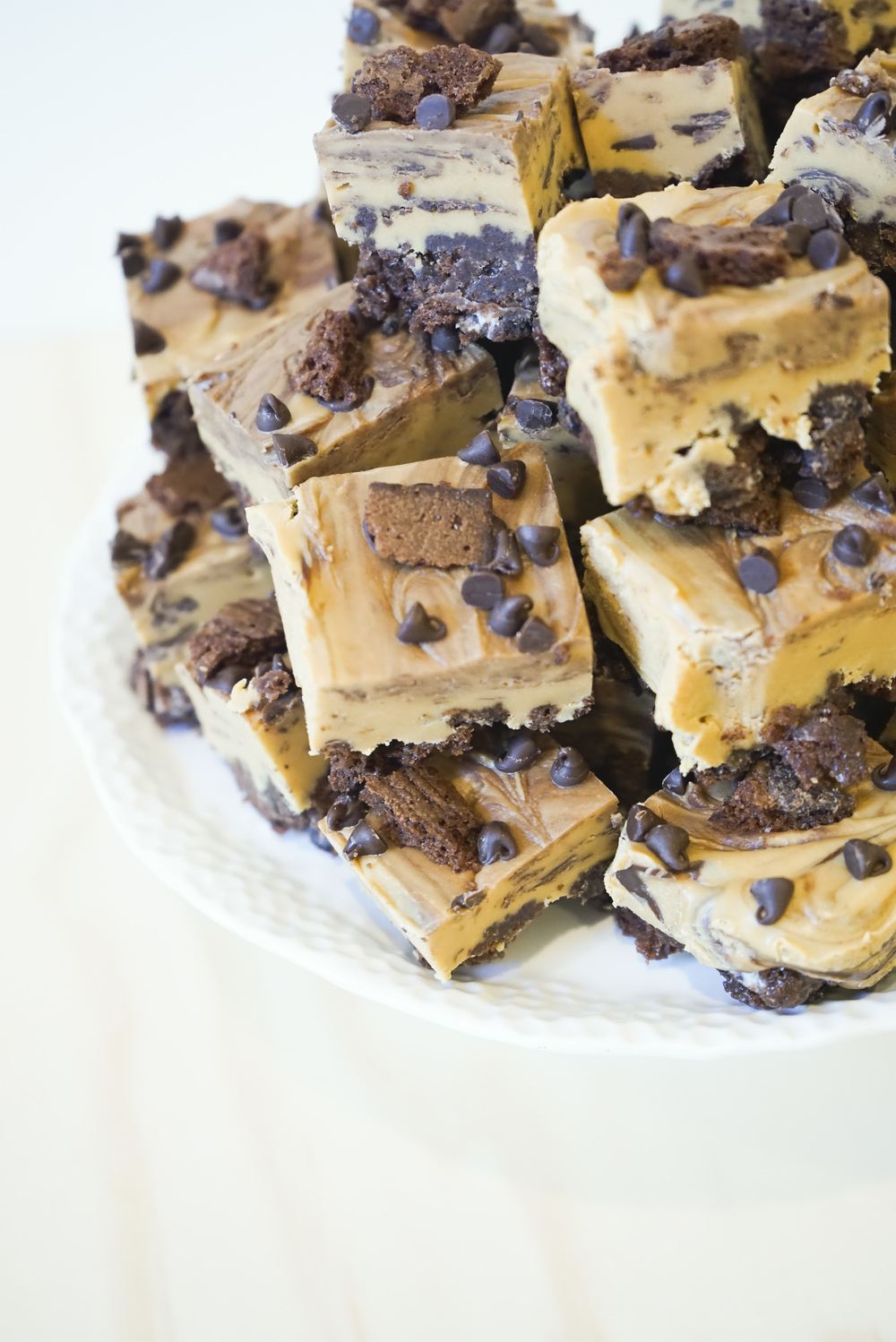 Caramel Chocolate Chip Brownie Brittle Fudge