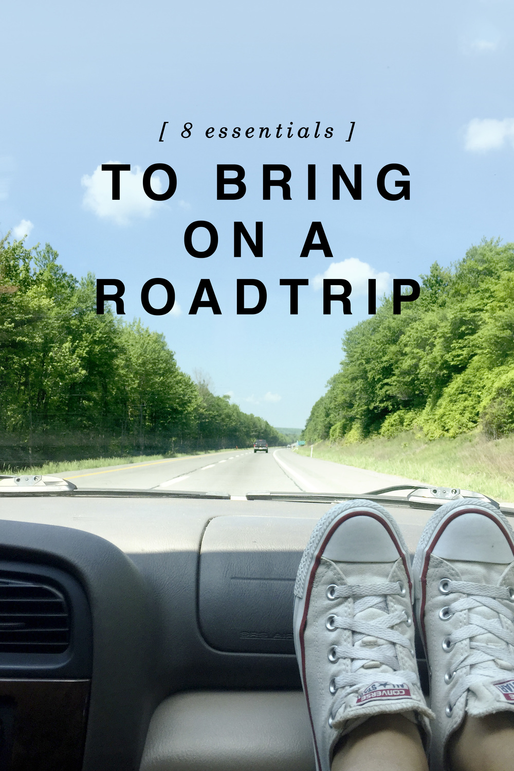 8 Essentials to Bring on a Roadtrip - Shannon Did What?