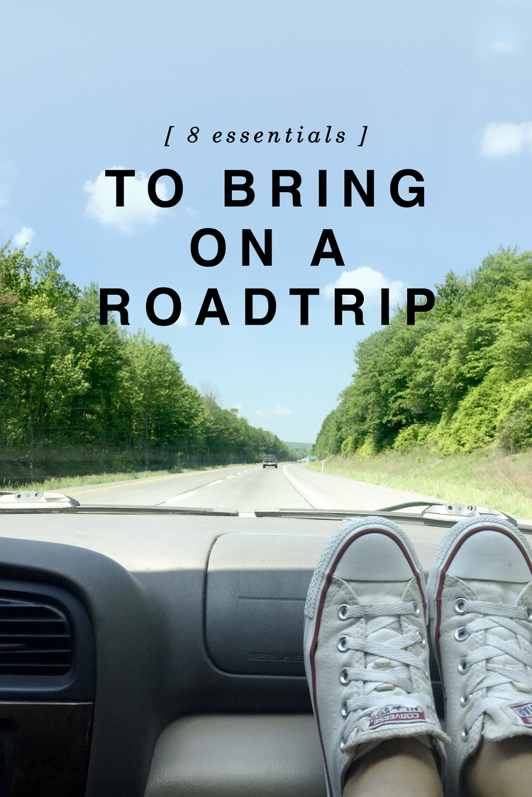 8 essentials to bring on a roadtrip — shannon did what / travel +