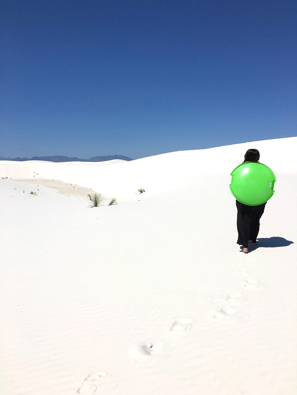 White Sands National Monument - Shannon Did What?
