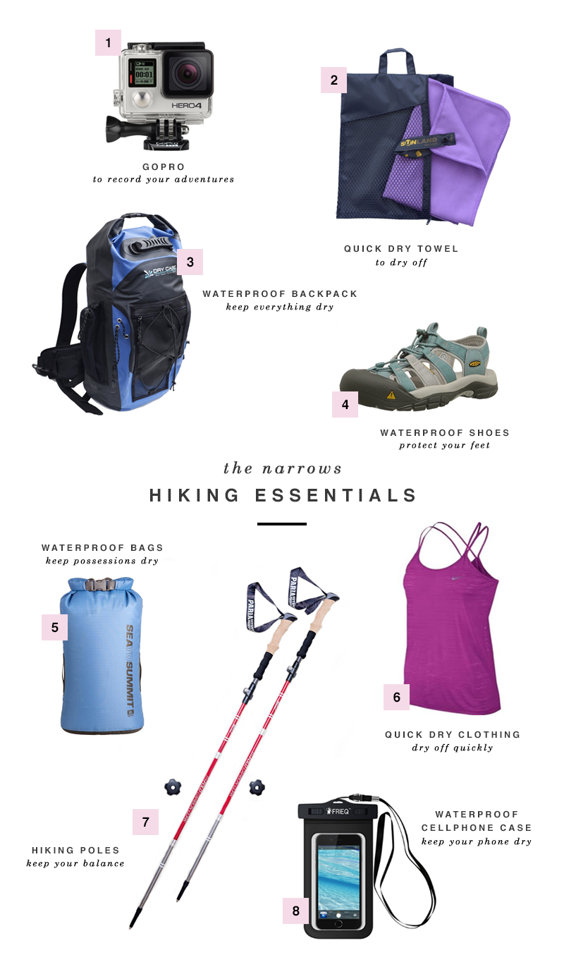 The Narrows Hiking Essentials - Shannon Did What?