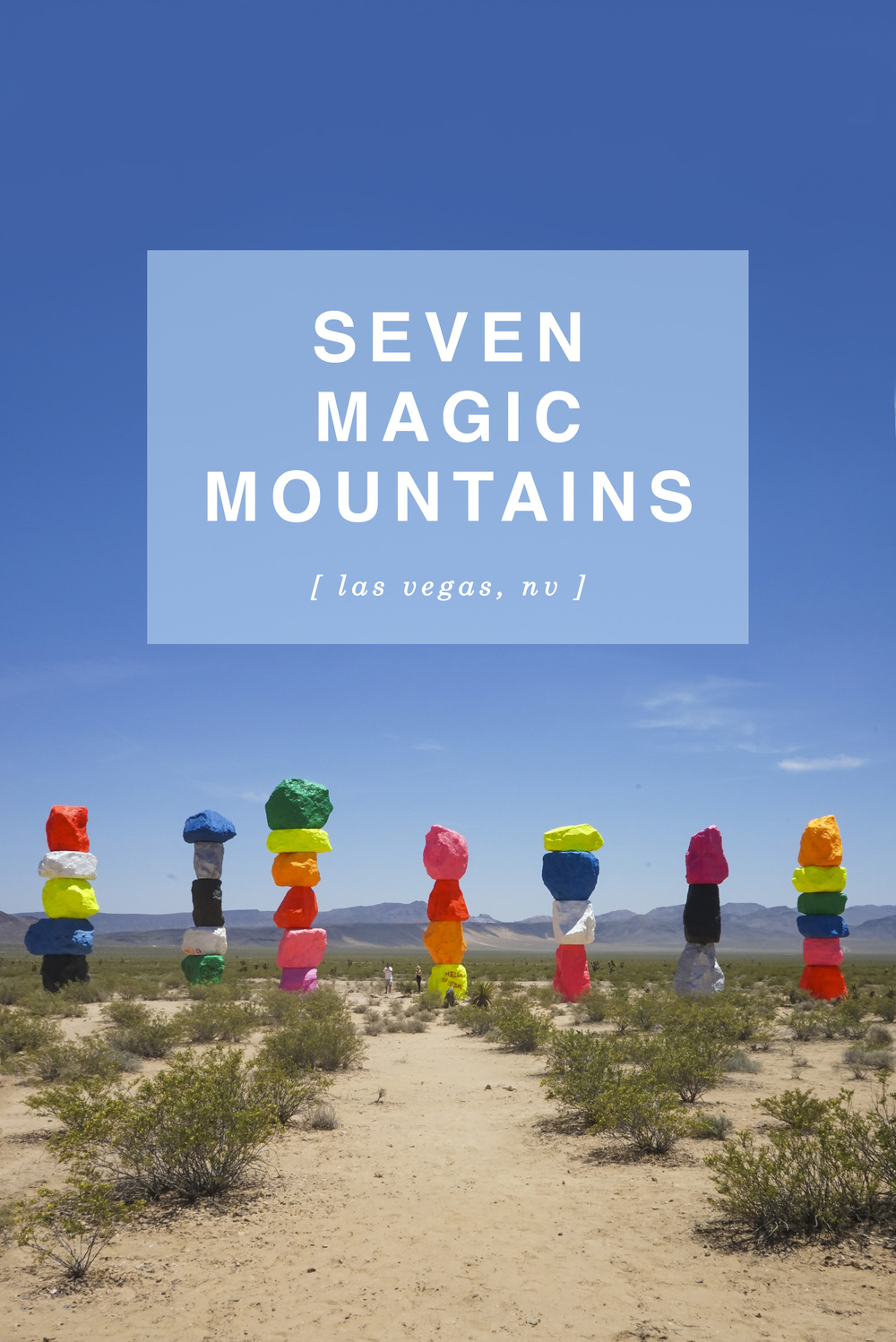 Seven Magic Mountains, Nevada - Shannon Did What?