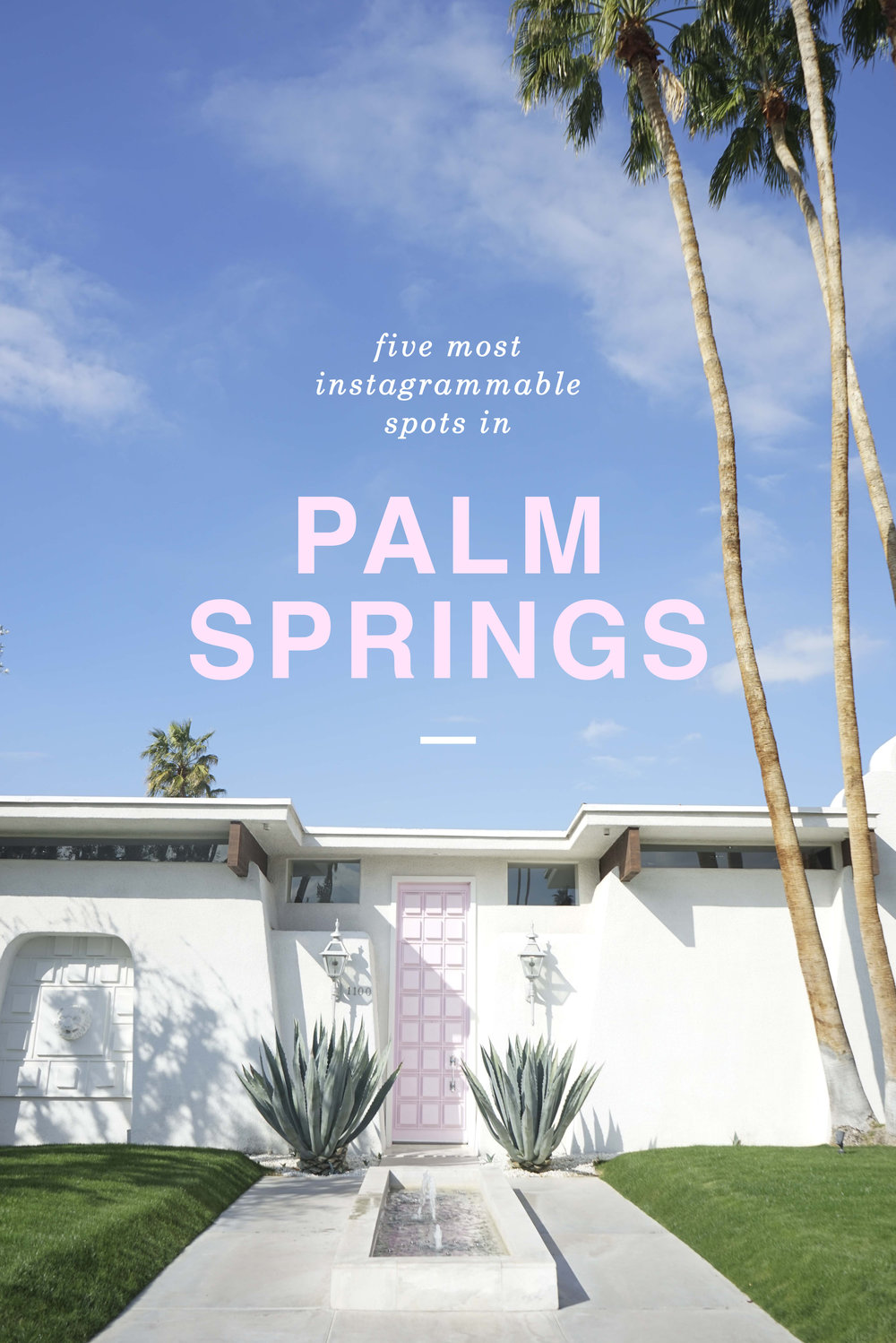 5 Most Instagrammable spots in Palm Springs | Shannon Did What?