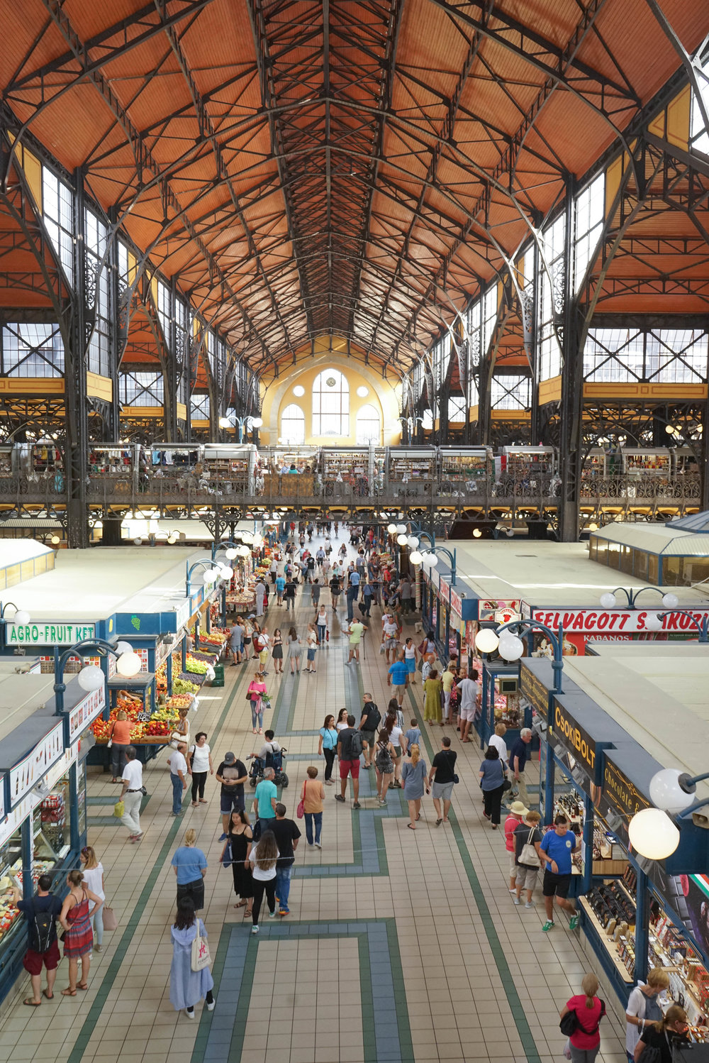 Central Market Hall | Grand Market Hall | Top 7 Things to do in Budapest