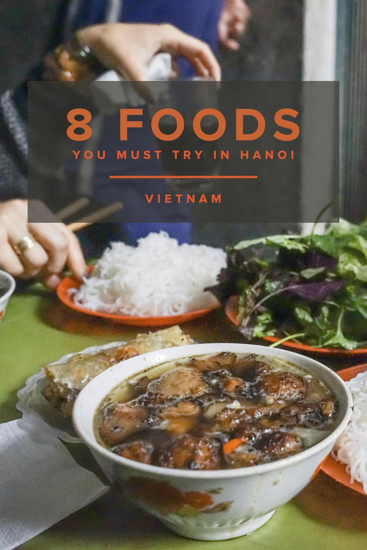 Hanoi Food Guide