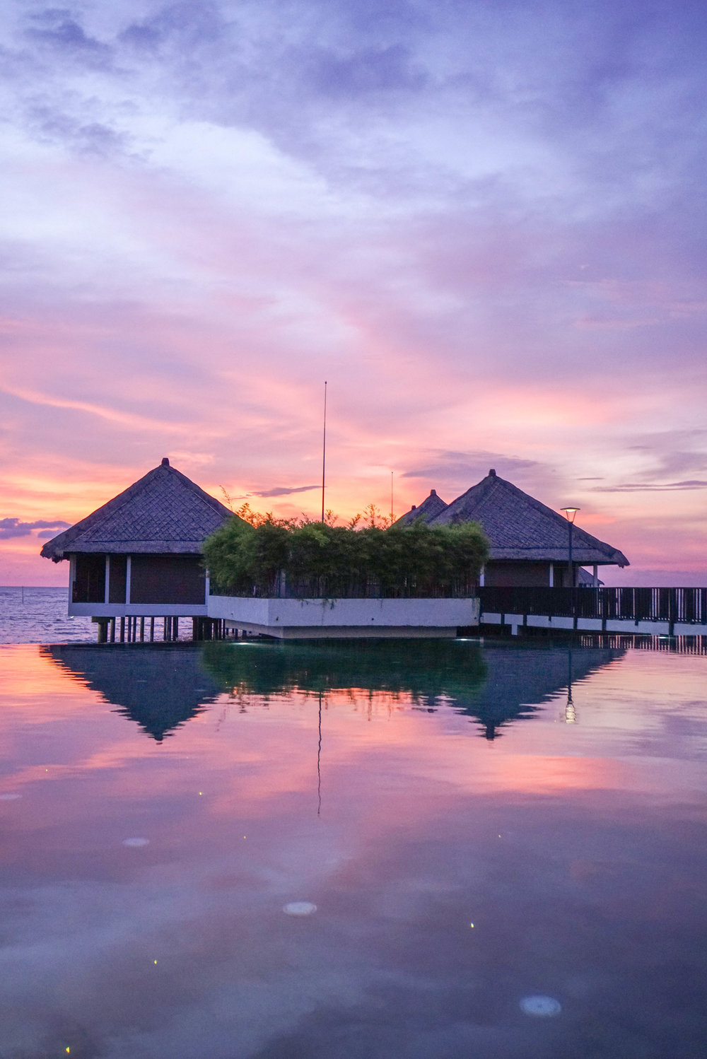 All Inclusive Overwater Bungalows