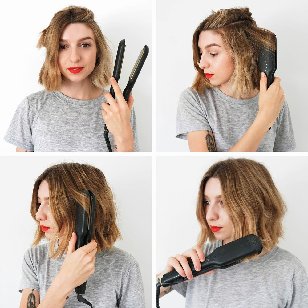 How To: Messy Bob — Brittany Bathgate