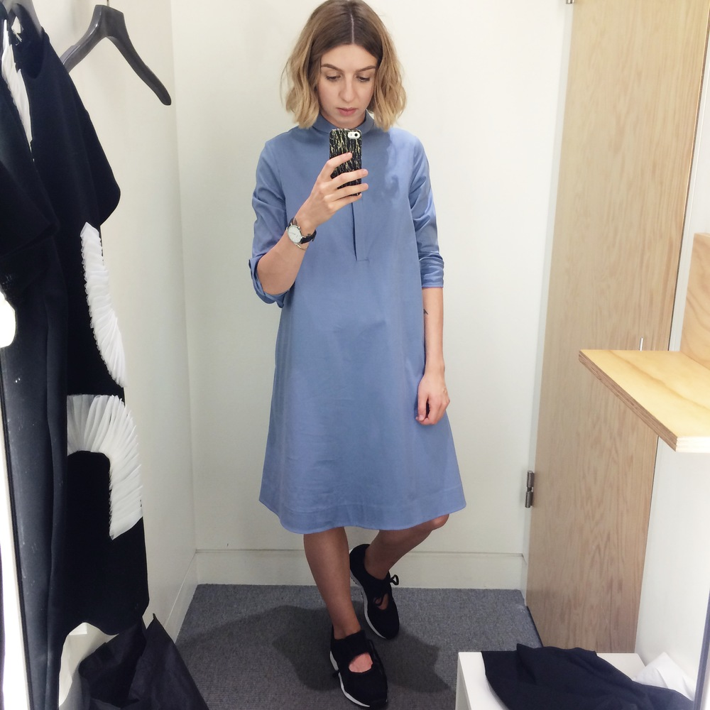 That time I tried on everything in COS — Brittany Bathgate e45de412a