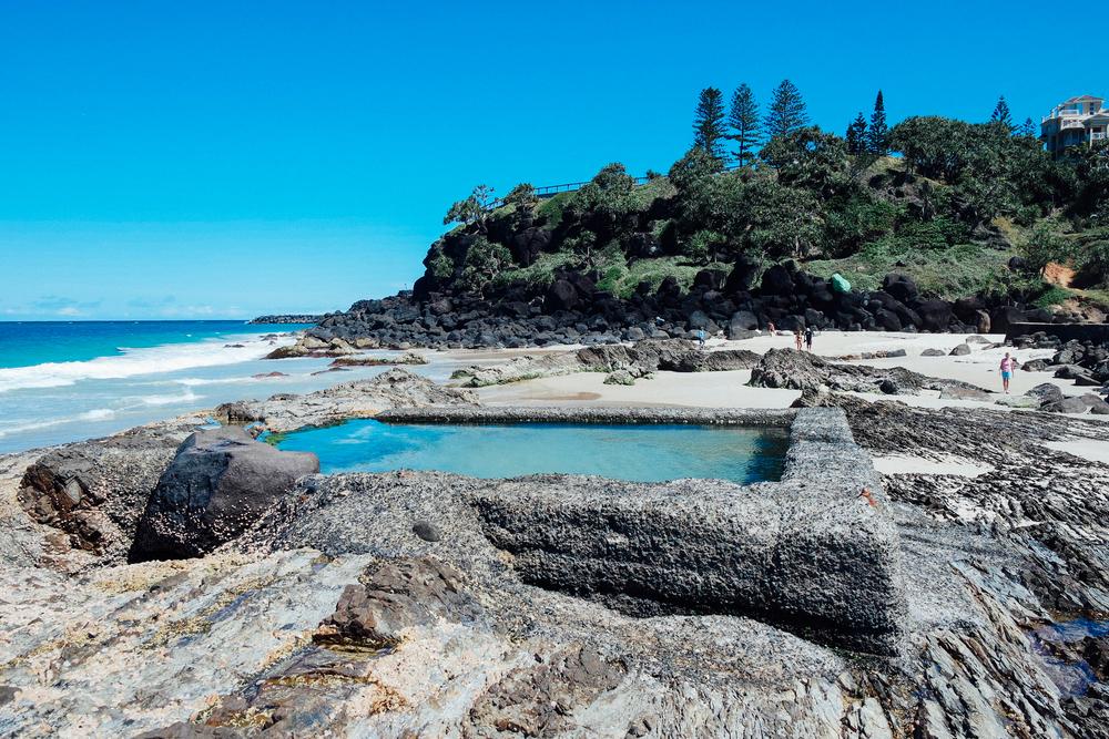 Rock Pool at Snapper Rocks