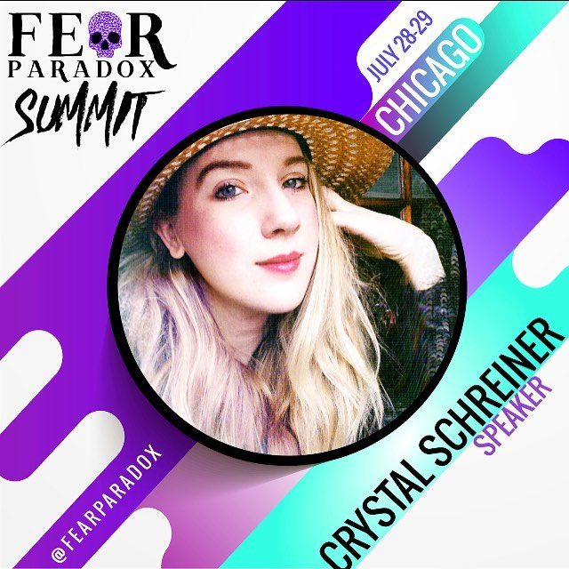 Guess what ?! I'm speaking LIVE❤️Today ! In Chicago. Cannot wait to teach some QUANTUM CREATIVE EXPRESSION at @fearparadox summit 👊🏻🔮⚡️⚡️⚡️