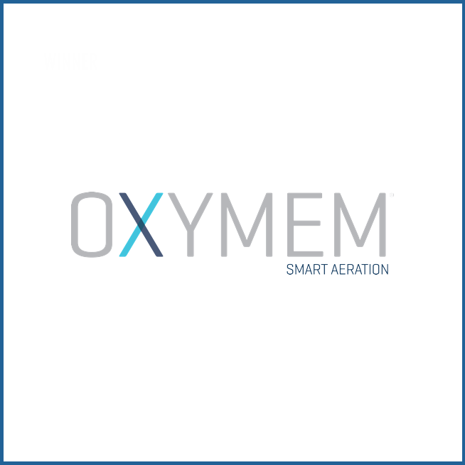 WINNER   OxyMem uses gas permeable membranes to deliver oxygen directly to micro-organisms that break down wastewater, resulting in four times the energy efficiency of competing products