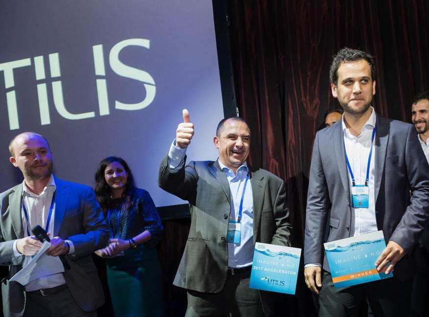 Utilis wins the 2017 Water Data Challenge