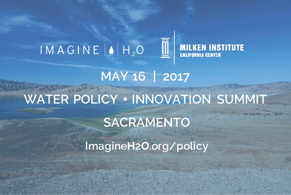 IH2O Water Policy Summit