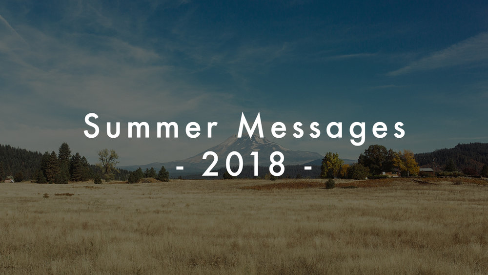 Summer Messages - 2018.jpg