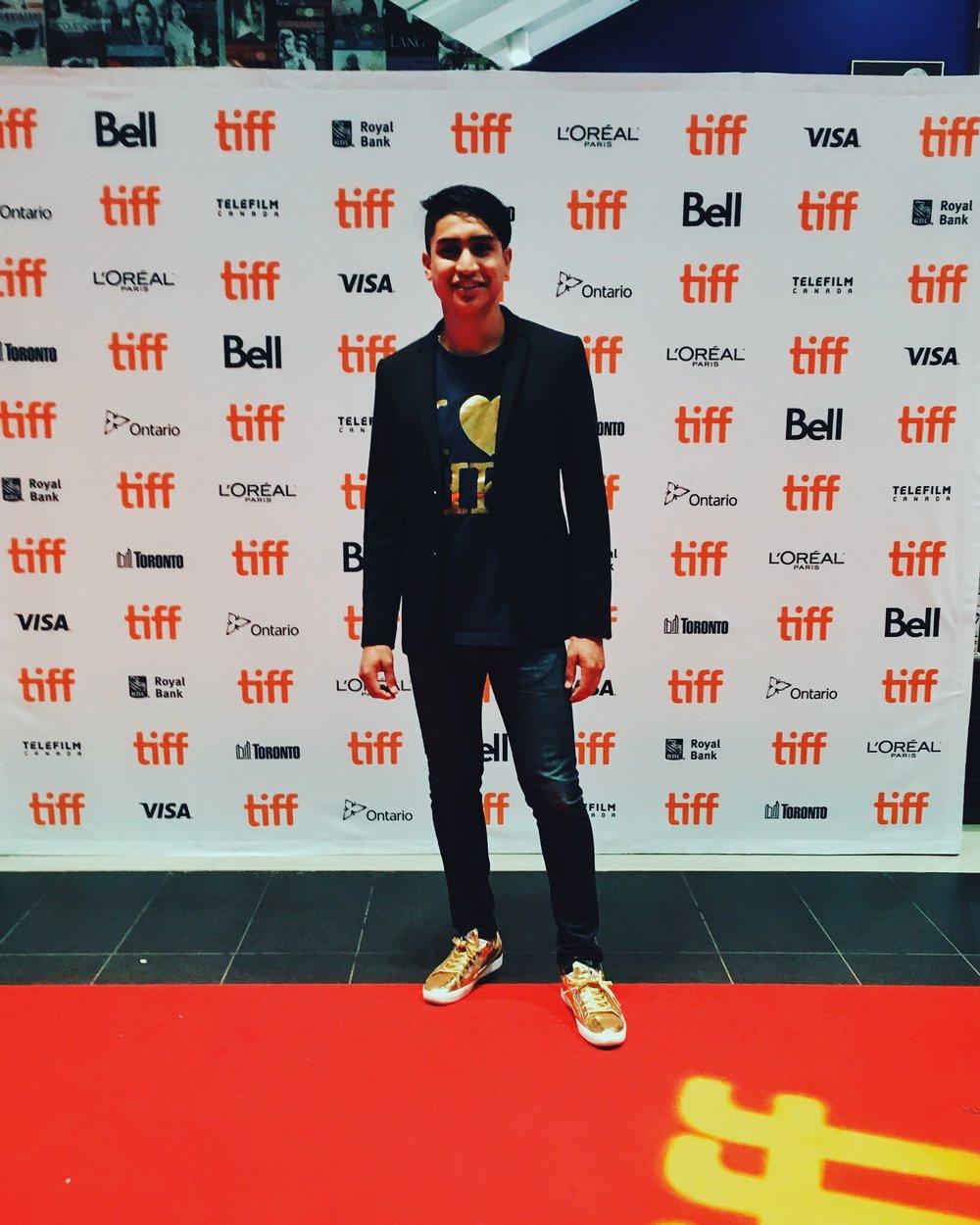 Director Emmanuel Camacho at the Toronto International Film Festival 2016