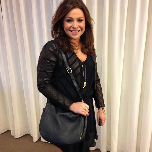 Rachael Ray & her bespoke Cambria handbag