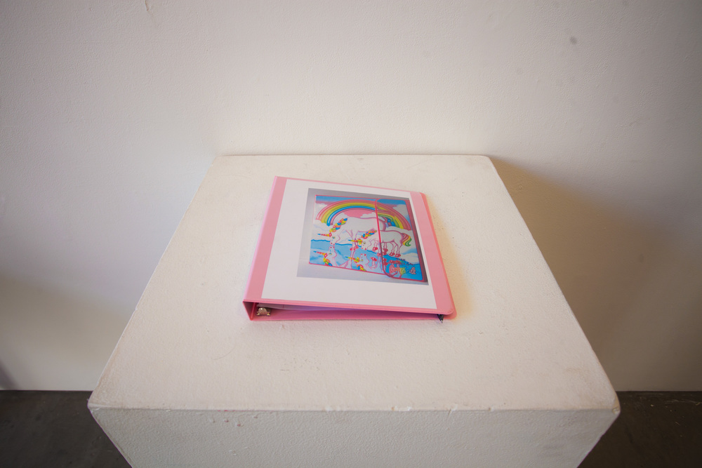 unicorn binder binder