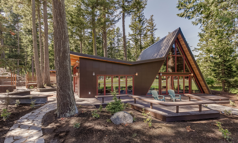 Residential additions nina le baron aia for Log cabin additions ideas