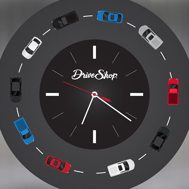 How much can you get done in an hour of work? We deliver or pick up 10 cars an hour!! 😮 #FactFriday #TheMoreYouKnow #DriveShop #DidYouKnow