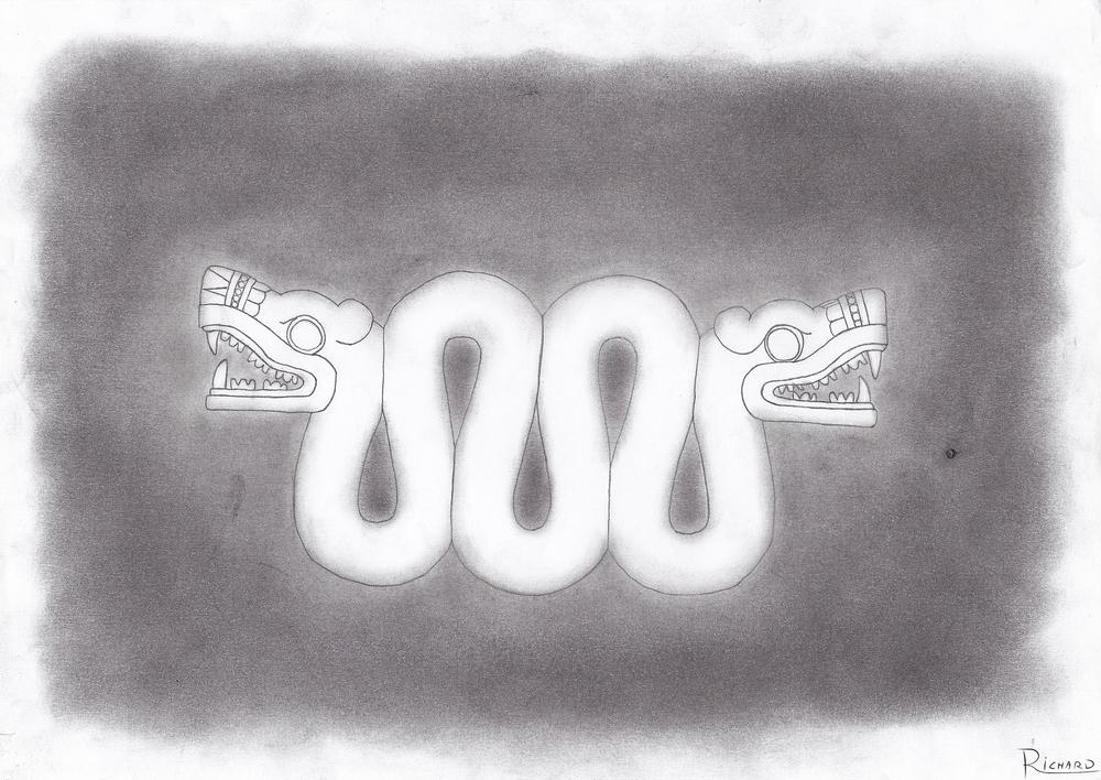 Quetzalcoatl Aztec Snake