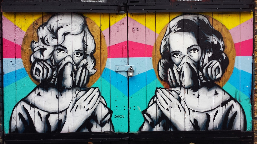 Artist:  @zabouartist   Shoreditch, London, England. July 2015.