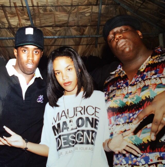 35. AALIYAH & NOTORIOUS B.I.G. - IF YOUR GIRL ONLY ONE MORE CHANCE (NOUVEAU TECHNIQUE EDIT) - IMAGE VIA PINTEREST
