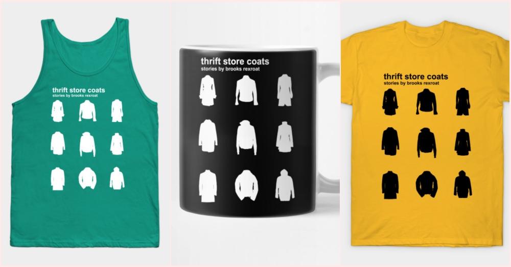 Thrift Store Coats -