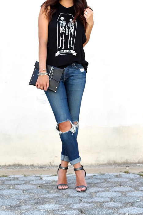 distressed jeans for summer